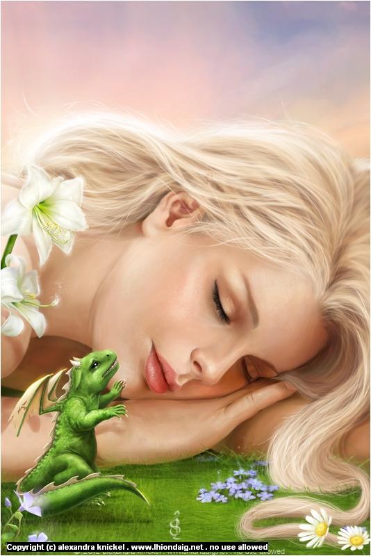 Wake up  Artwork by Alexandra Knickel