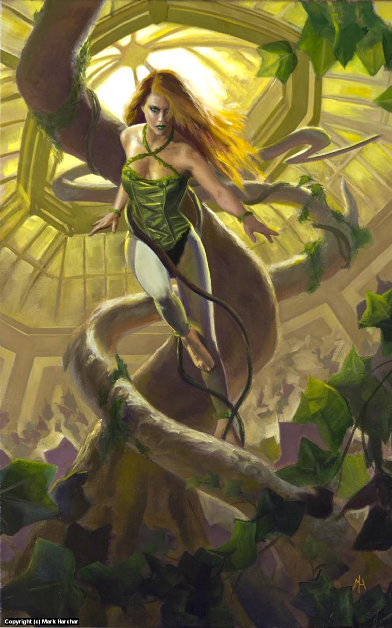 Death Upon the Vine Artwork by Mark Harchar