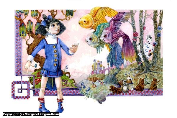 Alice on Mars Artwork by Margaret Organ-Kean