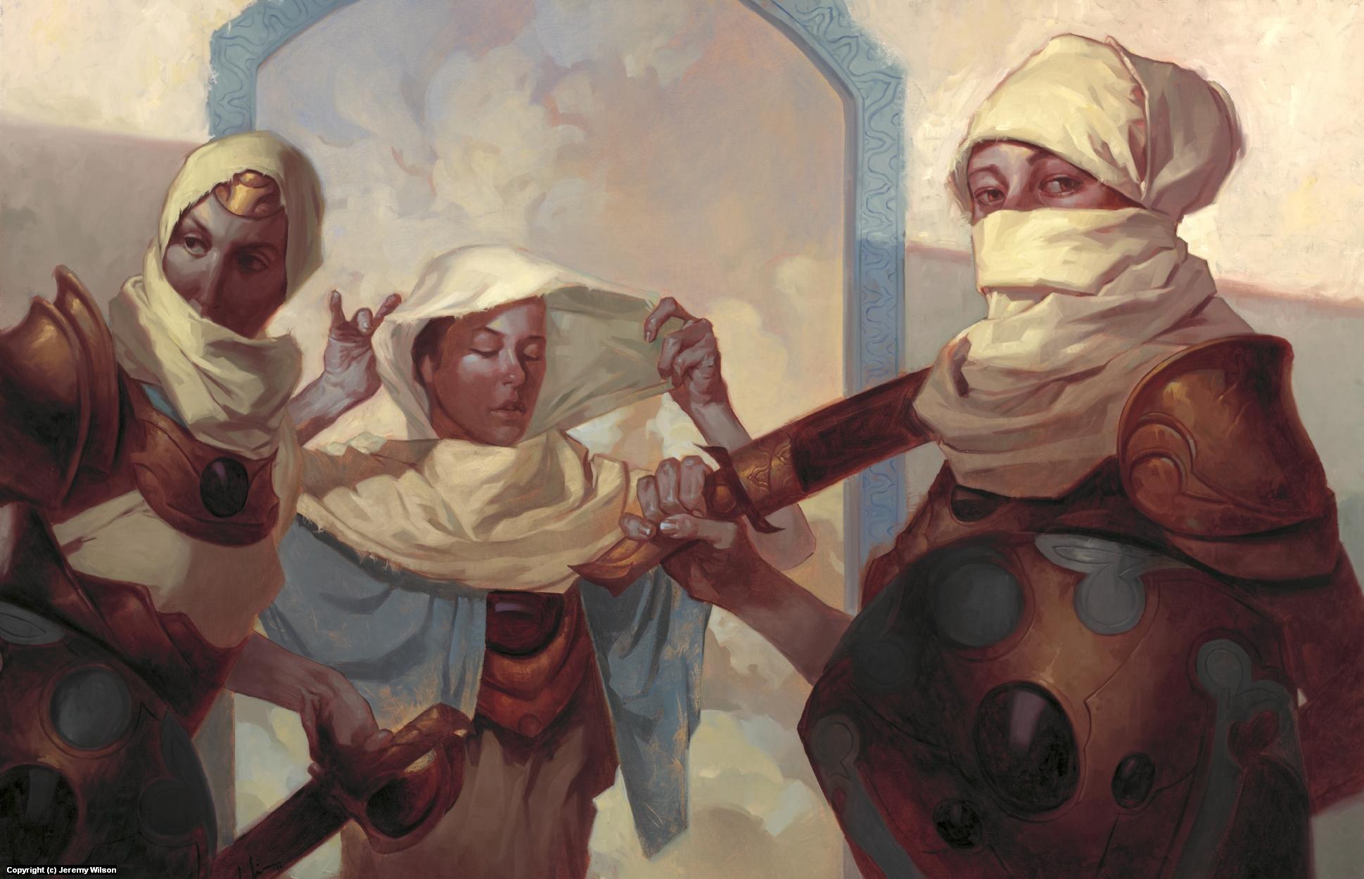 Desert Guardians Artwork by Jeremy Wilson