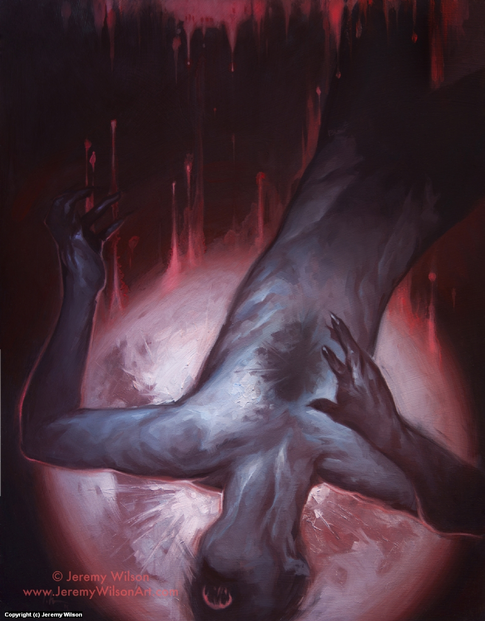 Dracula Artwork by Jeremy Wilson