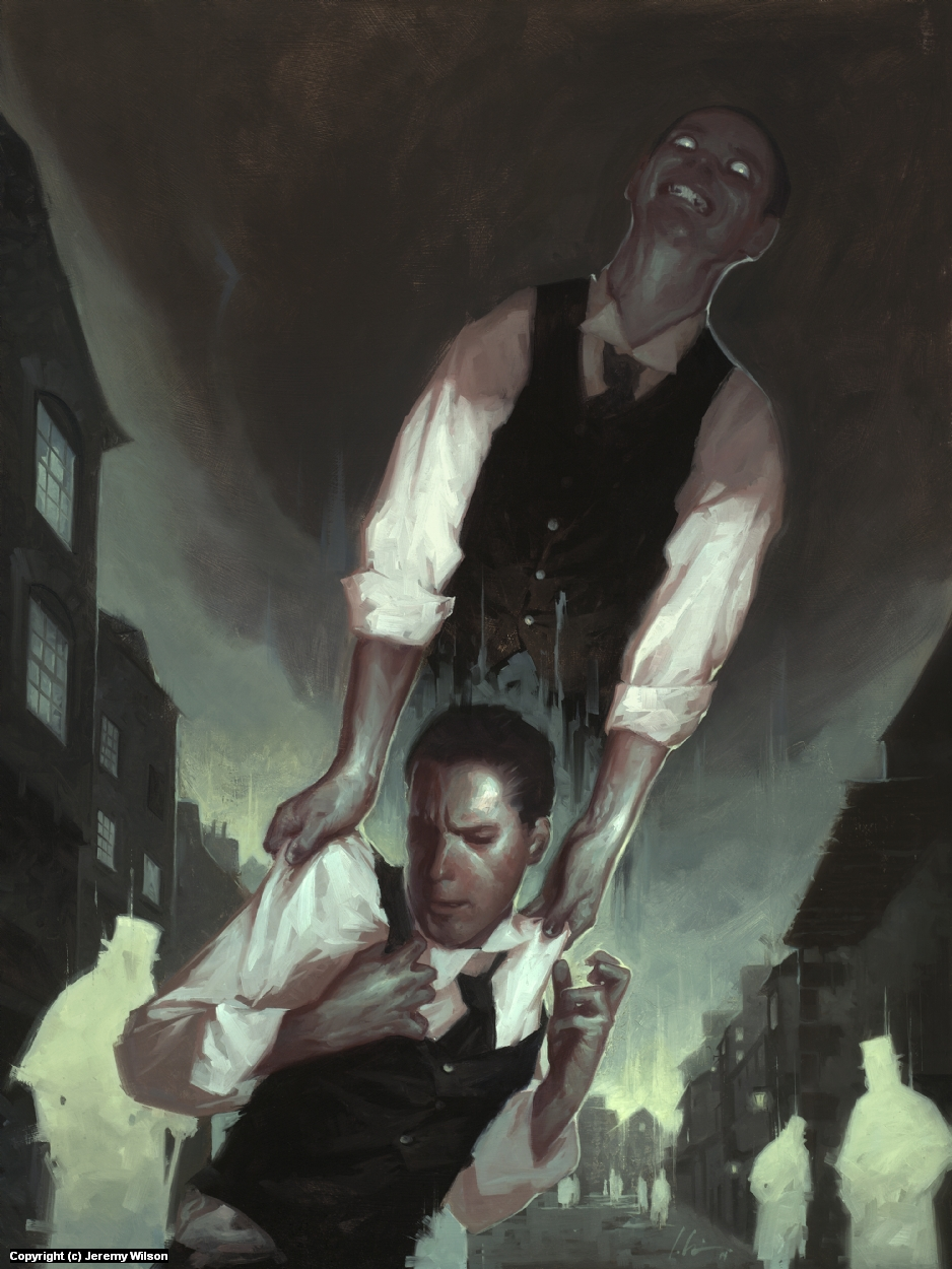 The Strange Case of Dr. Jekyll and Mr. Hyde Artwork by Jeremy Wilson