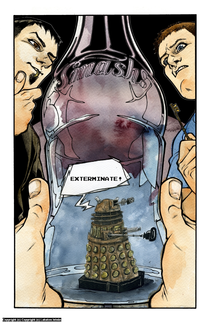 A Dalek, of course Artwork by Lakatos Istvan