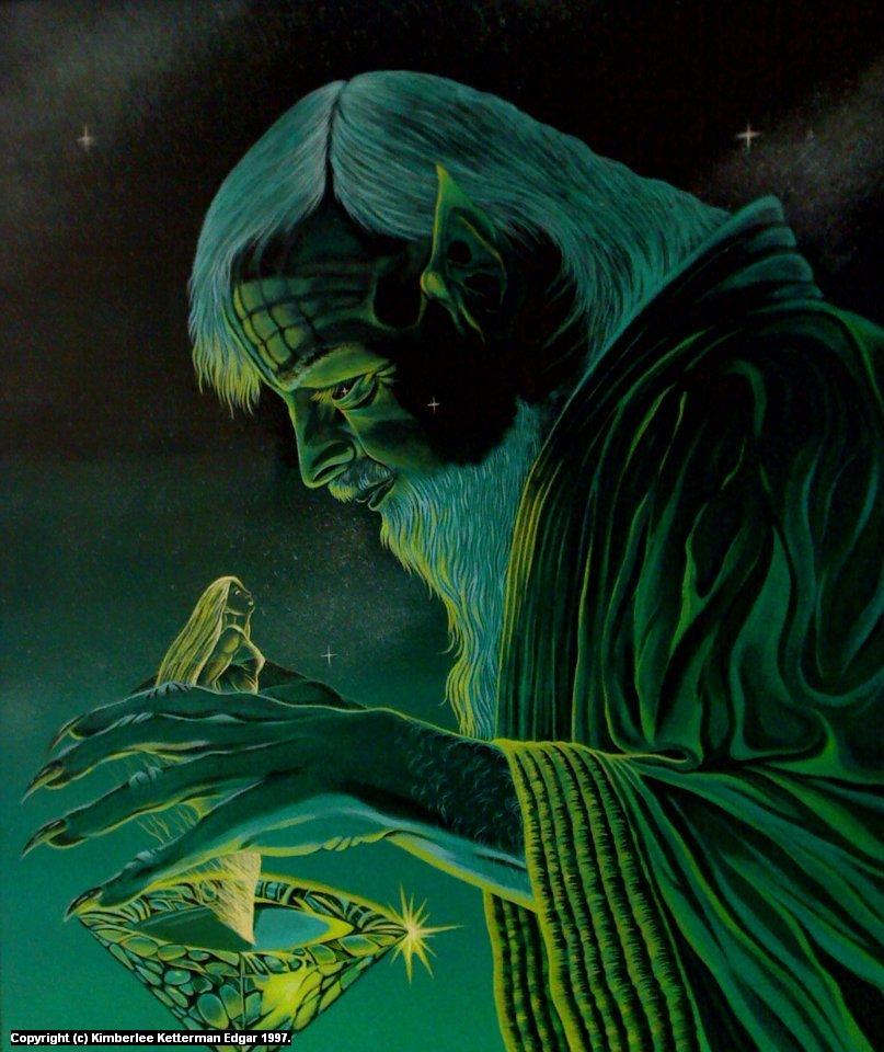 Incantation Artwork by Kimberlee  Edgar