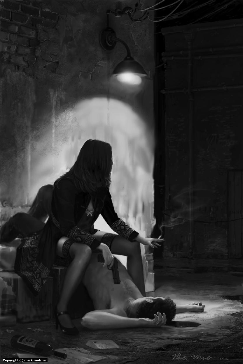 The Widowmaker Artwork by Mark Molchan