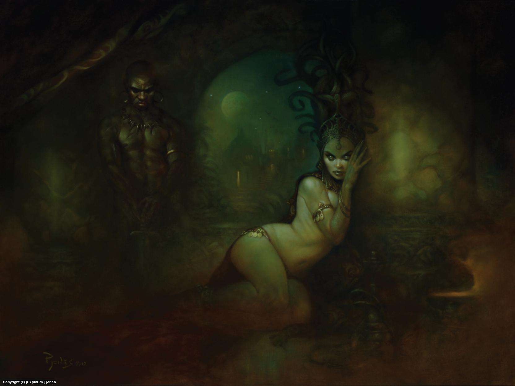 Palace of Medusa Artwork by patrick jones