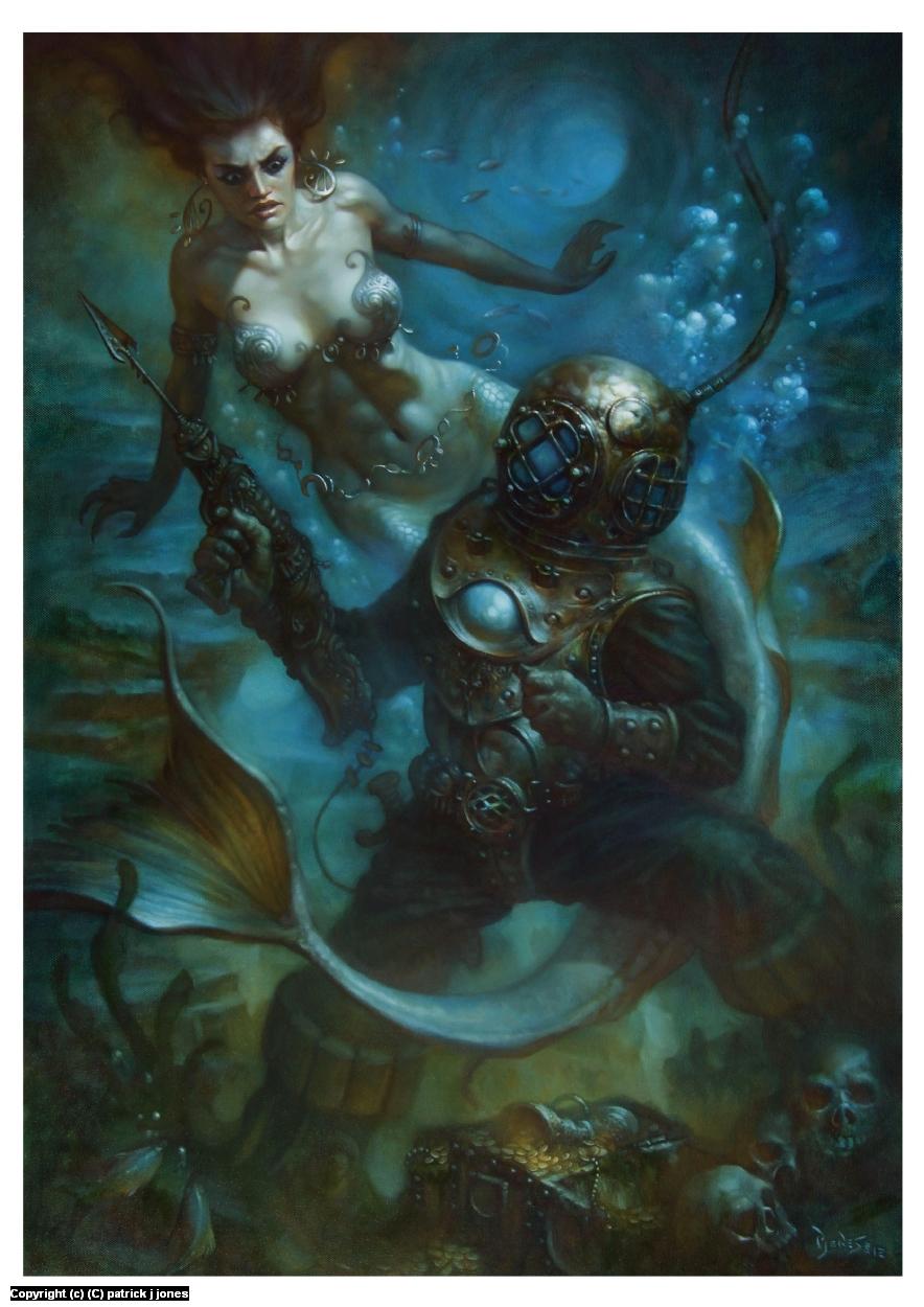 The Lost Treasure Artwork by patrick jones