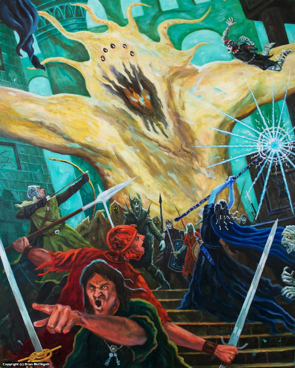 The Necropolis Artwork by Brian McElligott