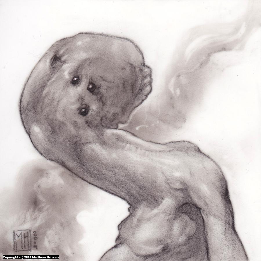 Alien #5 Artwork by Matthew Hansen