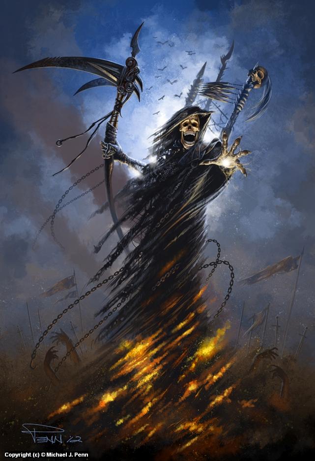 Reaper Artwork by Mike Penn