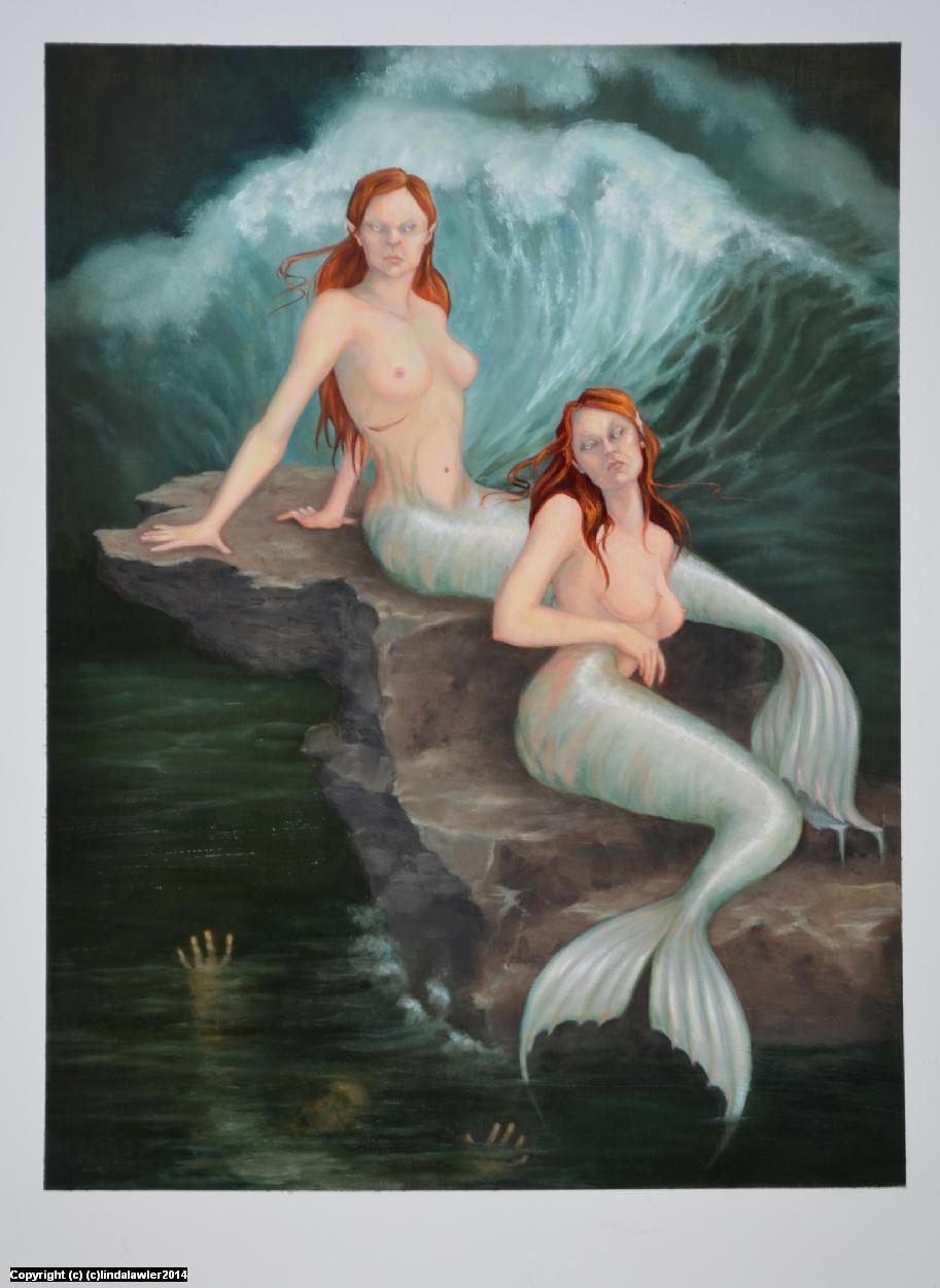 Cruel Mistresses Artwork by Linda Lawler