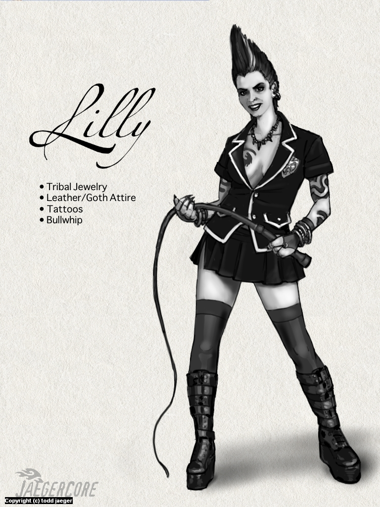 Lilly Artwork by Todd Jaeger