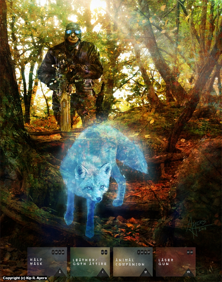 Sons of Vulpecula Artwork by Kip  Ayers