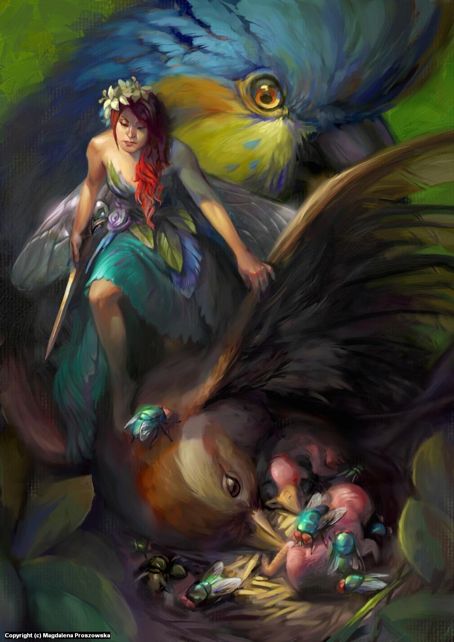 Fairies of Paradise Artwork by Magdalena Proszowska