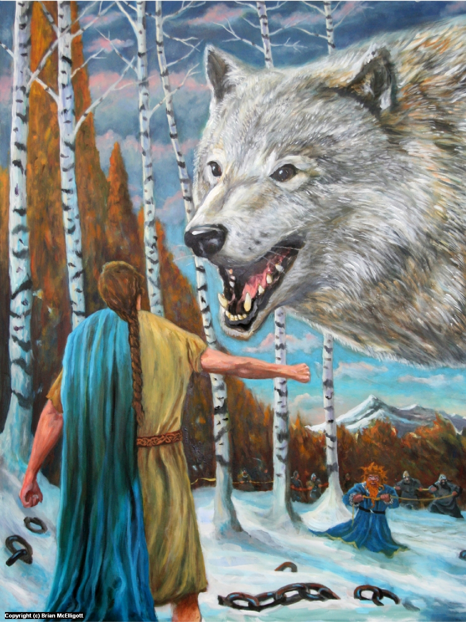 Tyr and the Golden Thread Artwork by Brian McElligott