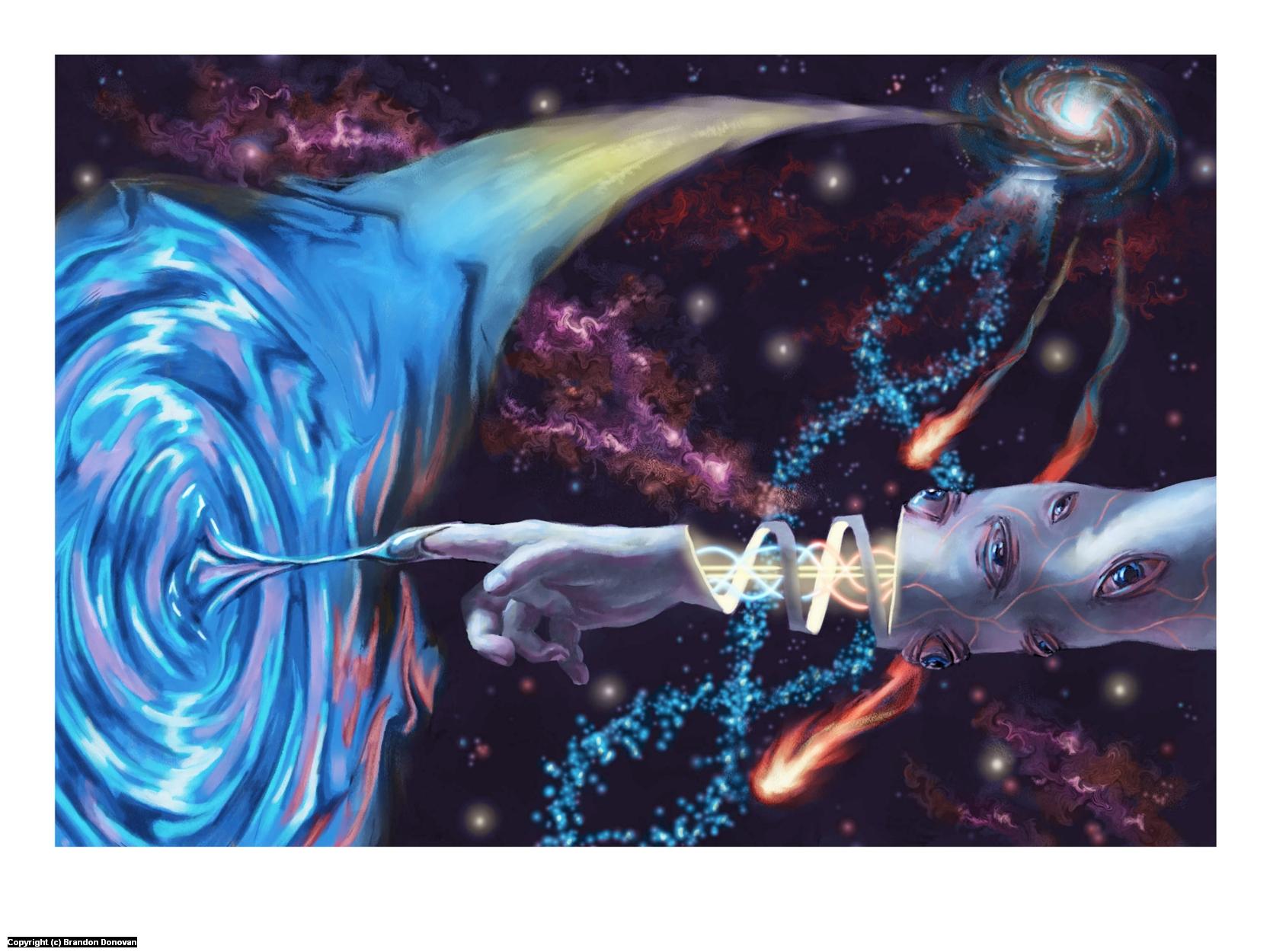 Lateralus Artwork by Brandon Donovan