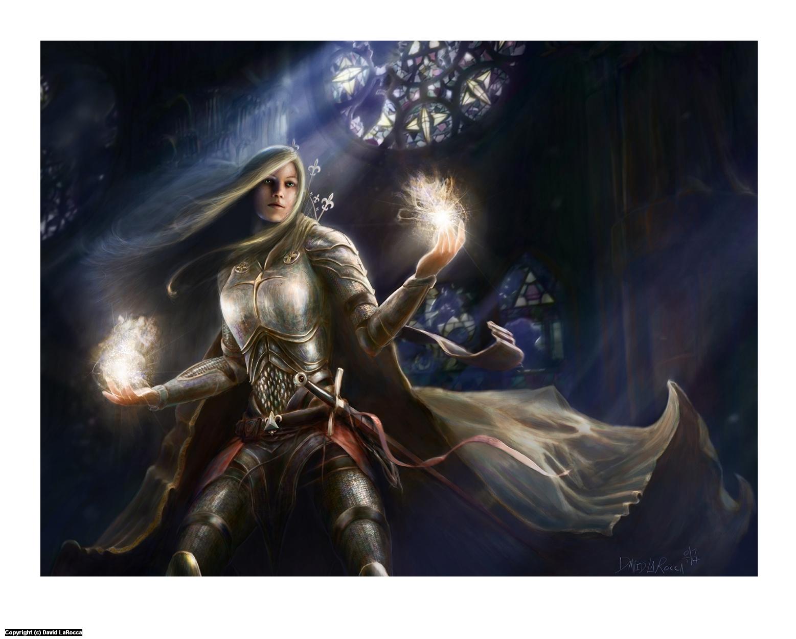 Champion of Light Artwork by David LaRocca