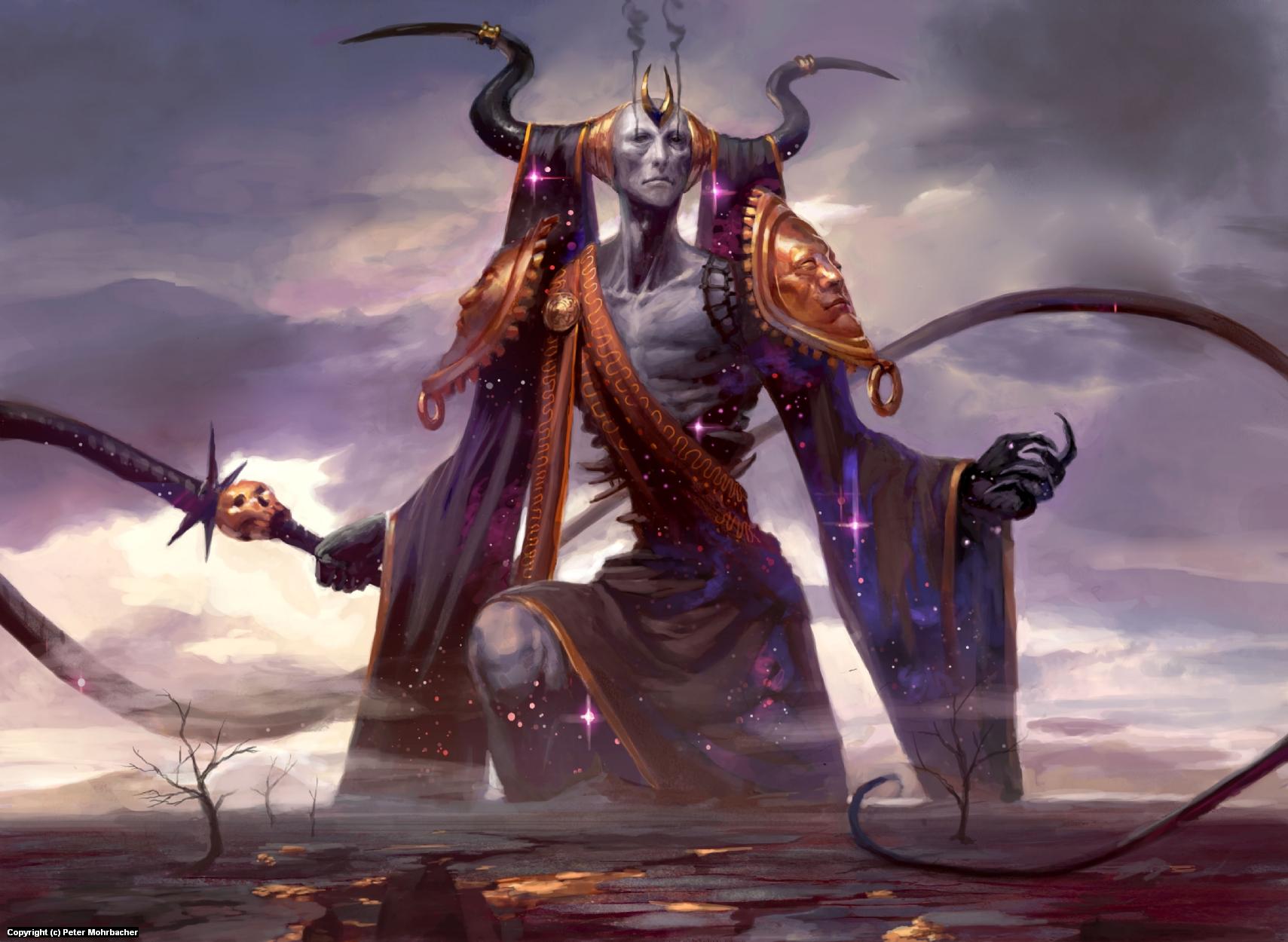 Erebos, God of Death Artwork by Peter Mohrbacher