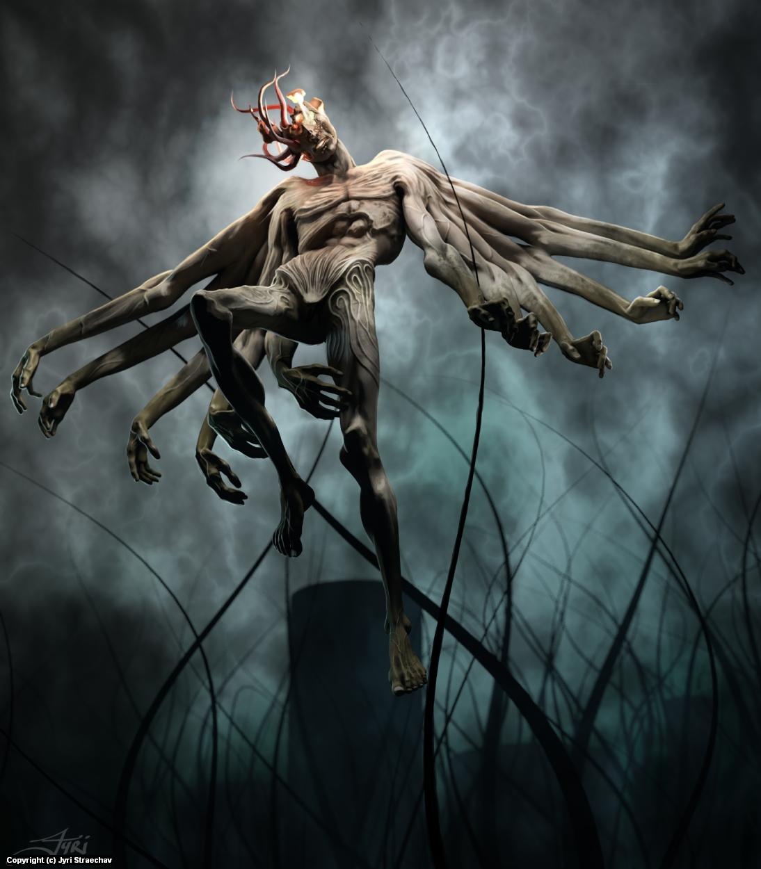 The Messenger Artwork by Jyri Straechav