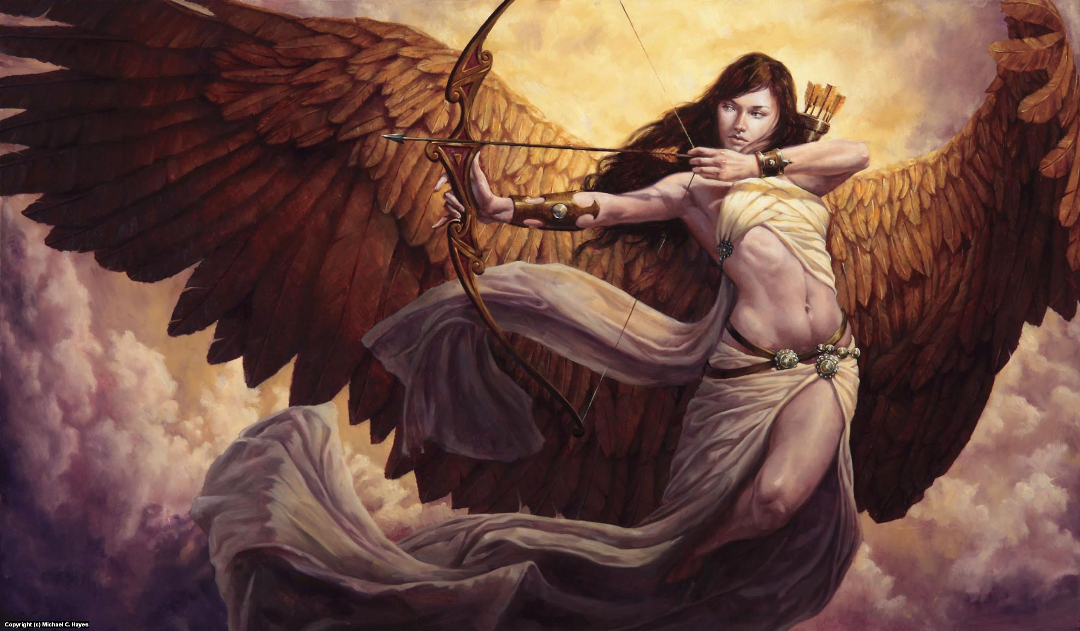 Artemis Artwork by Michael C. Hayes
