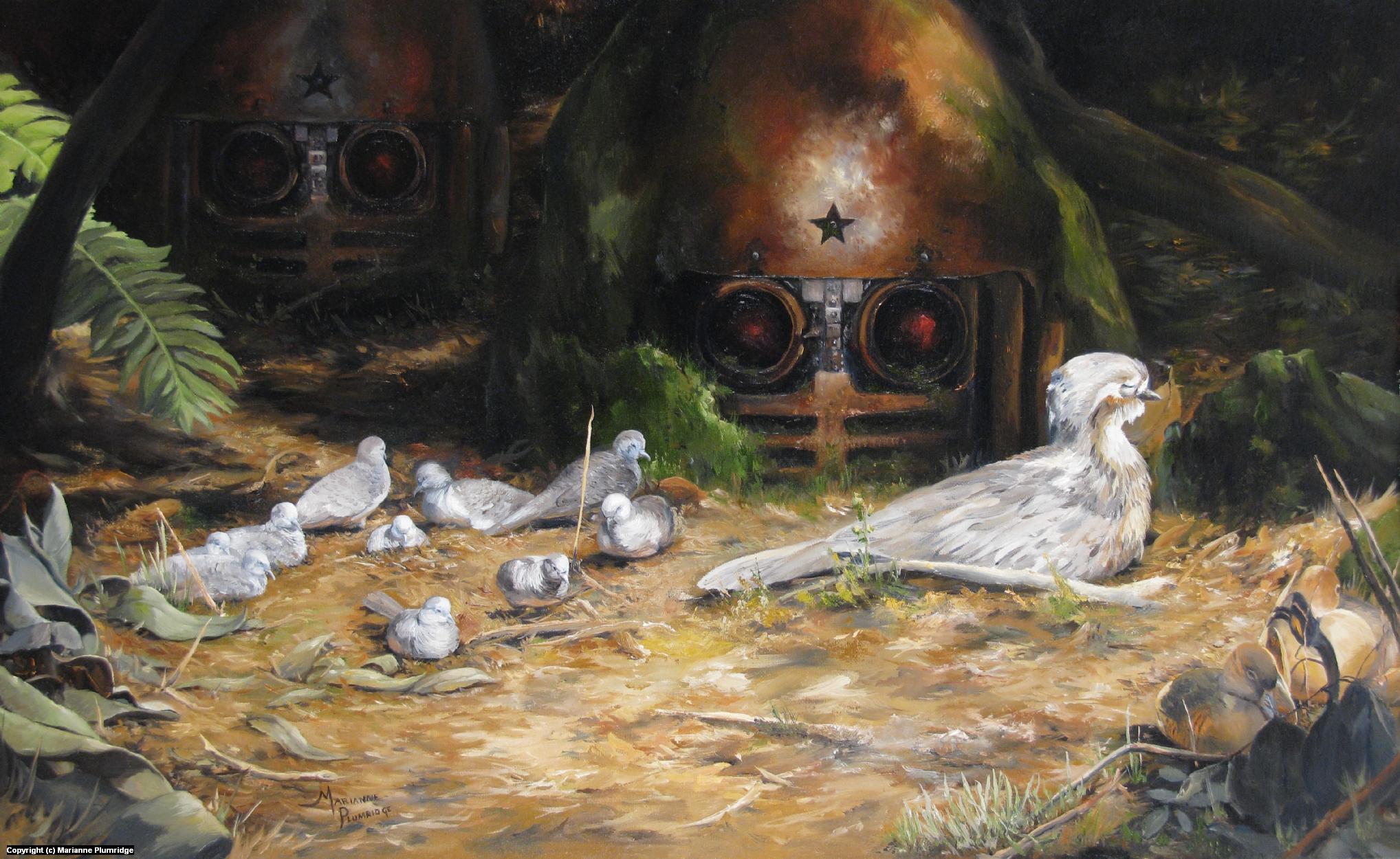 SLEEPERS Artwork by Marianne Plumridge