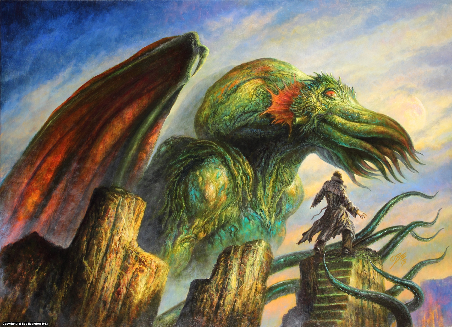 THE COMPLEAT CROW Artwork by Bob Eggleton
