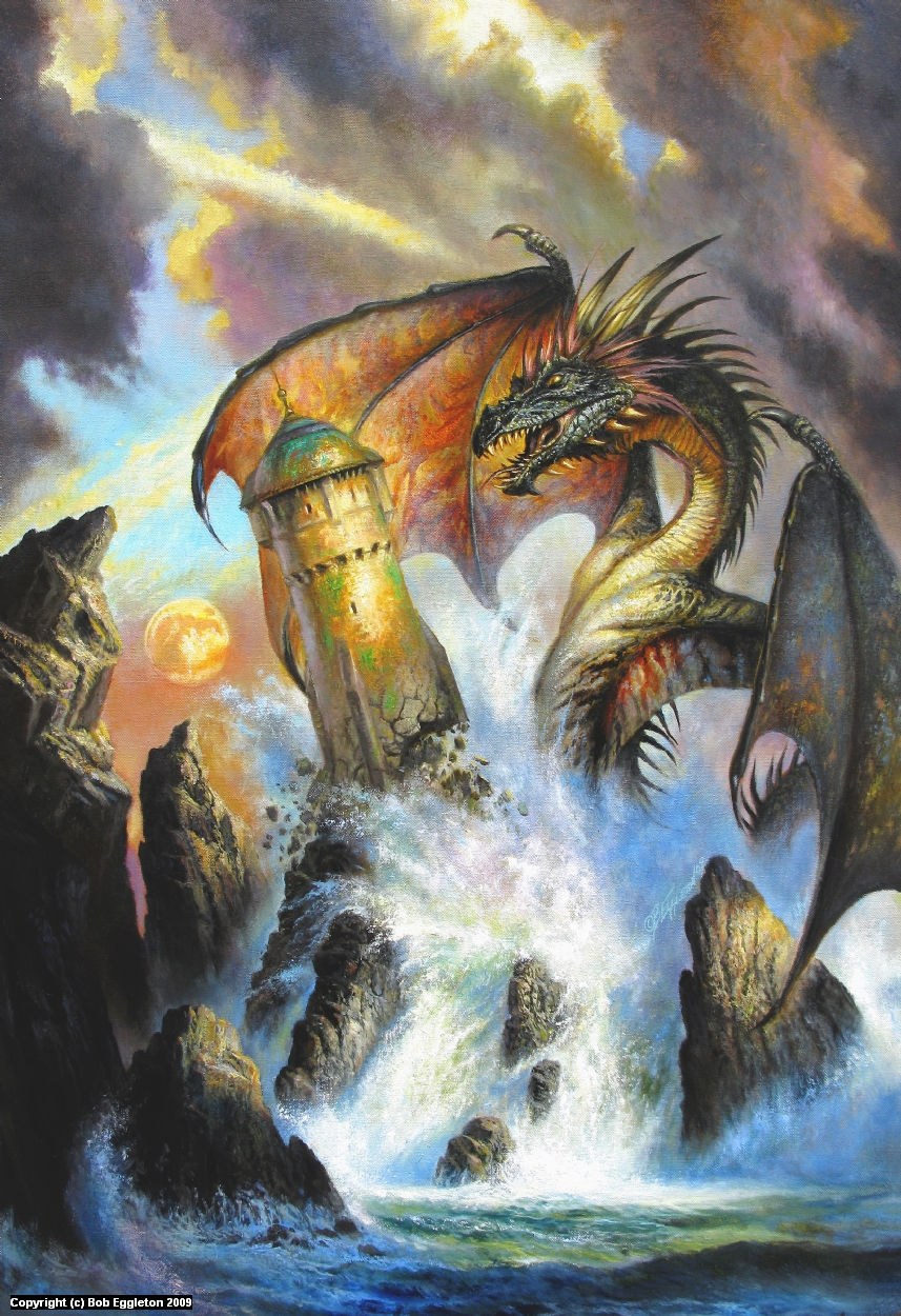 DRAGON RING Artwork by Bob Eggleton