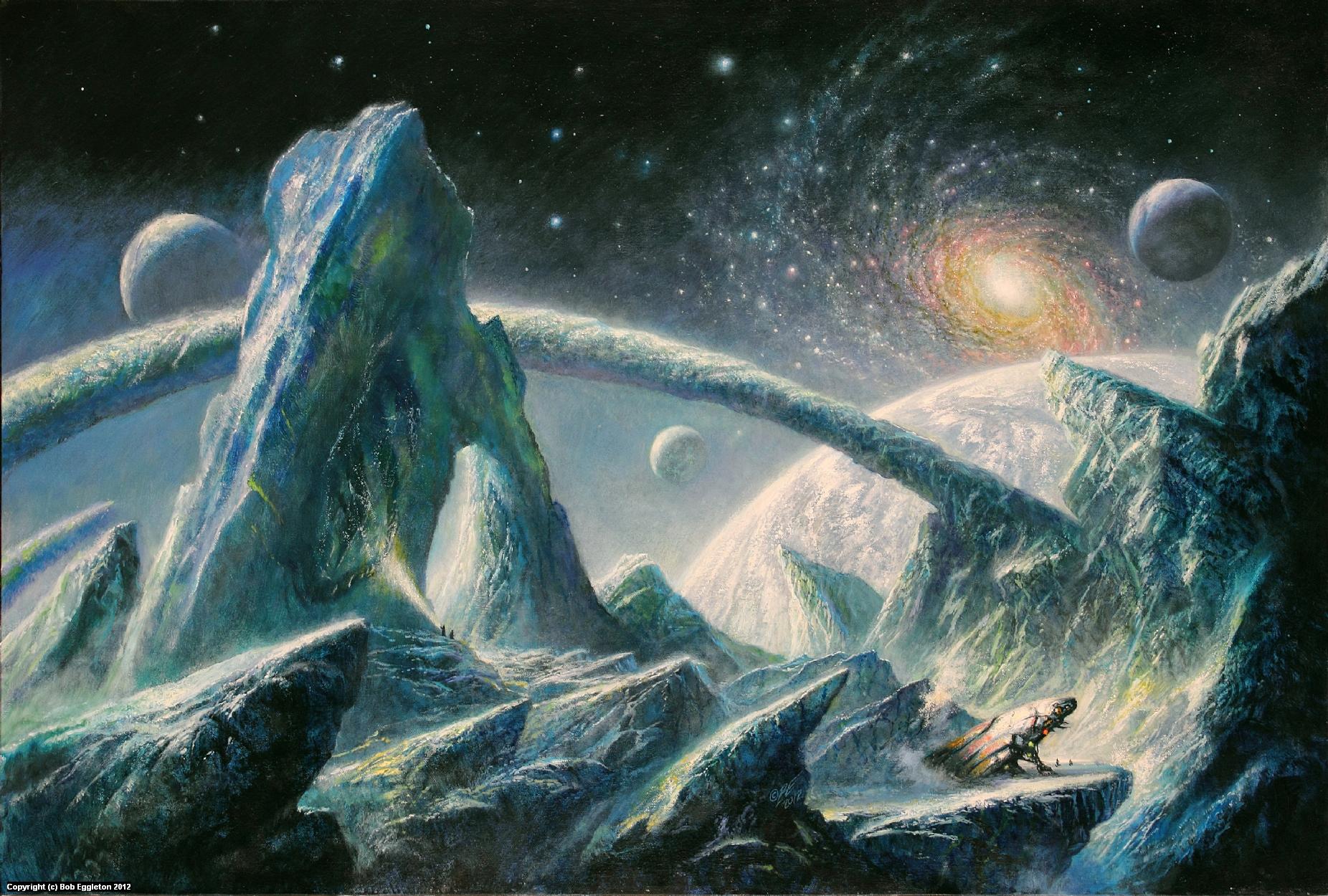 THE MULTIVERSE Artwork by Bob Eggleton