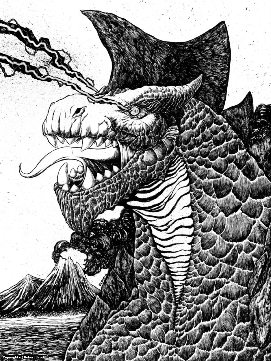 Gorgodonus Artwork by Robert Elrod