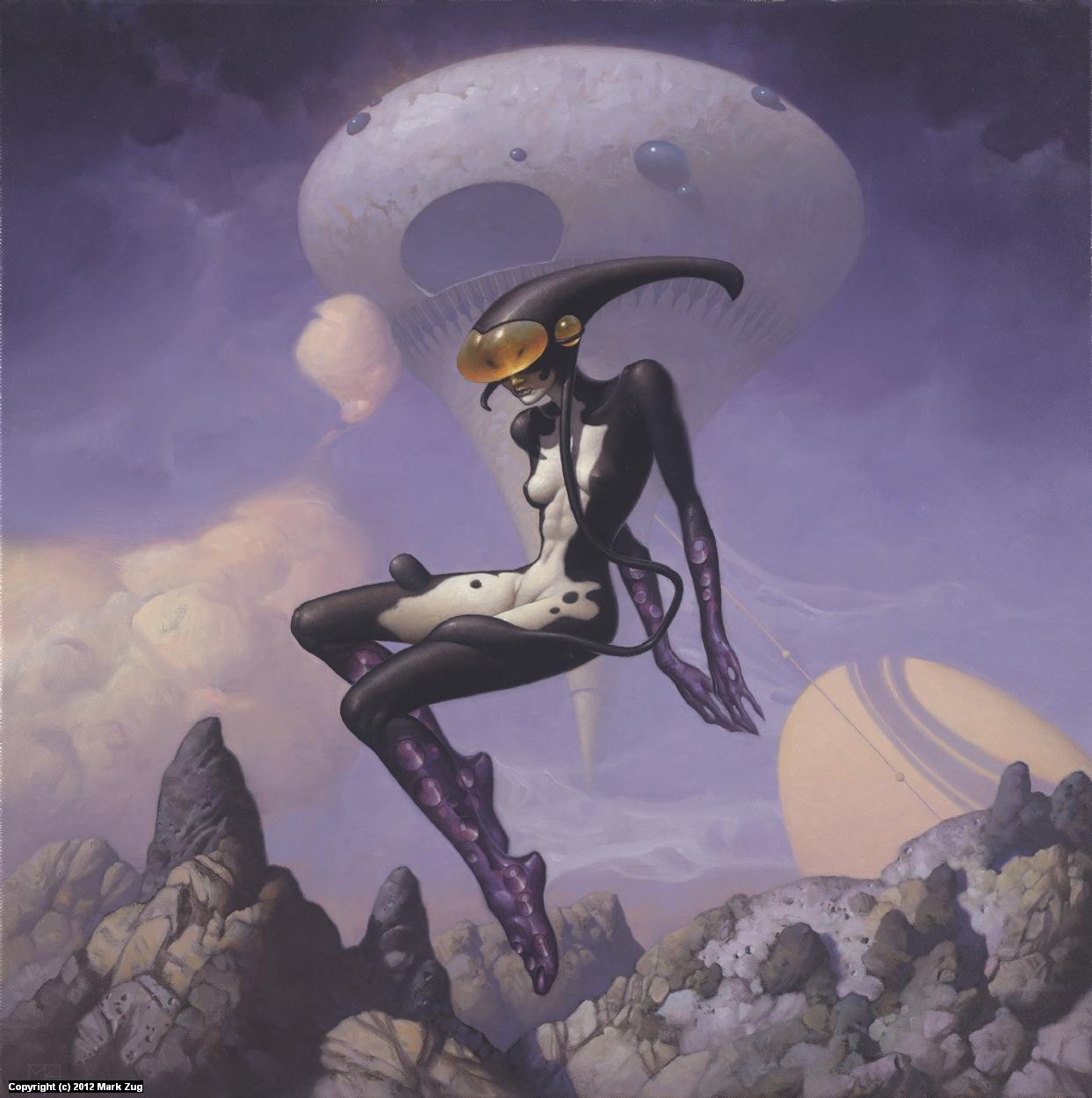 Xenon Artwork by Mark Zug
