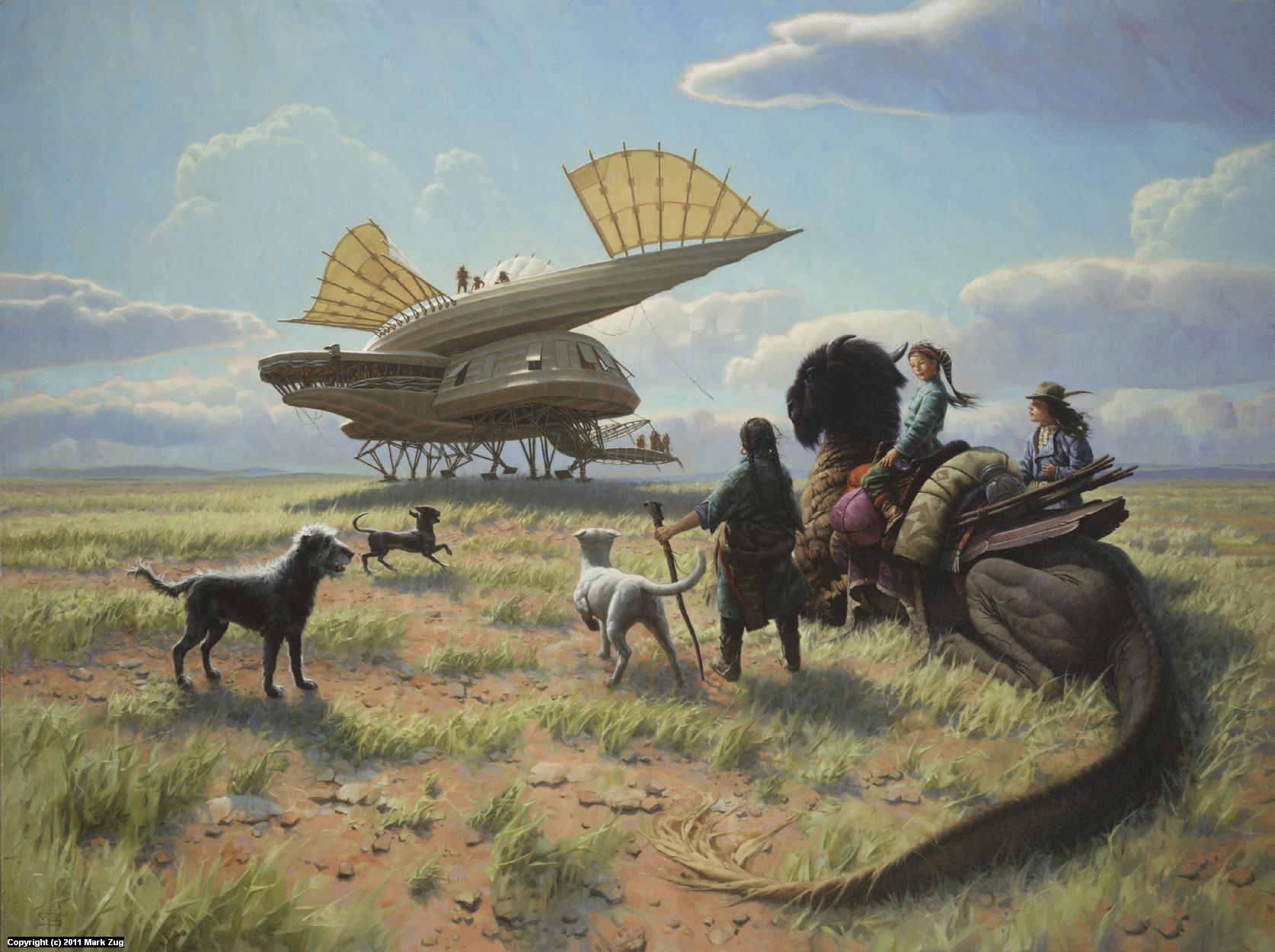 Prairie Dragon Artwork by Mark Zug