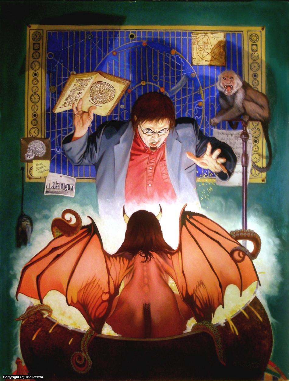 Sorcerer Scholar Artwork by Joseph Bellofatto