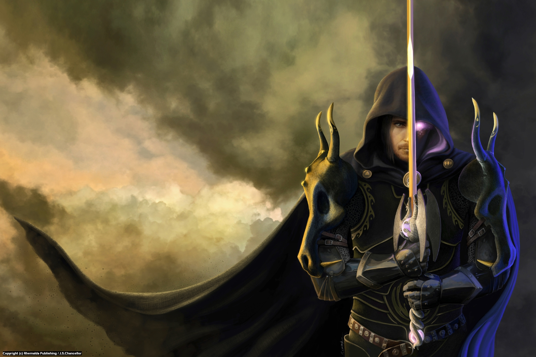 Son Of Ereubus - guardian Of Legend Cover Art Artwork by Oliver Wetter