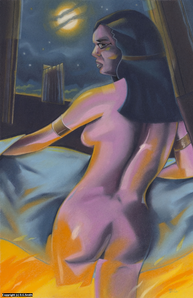 King David's Lust Artwork by D.G. Smith