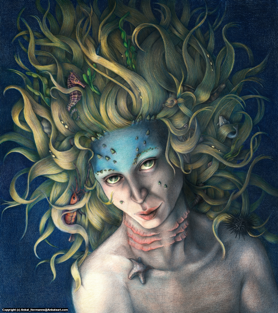 Under the sea Artwork by Anne-Katrin Hermanns