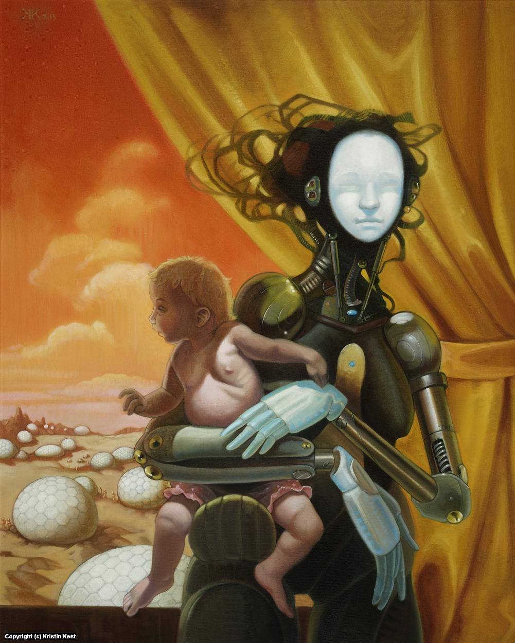 Ma.1Donna Artwork by Kristin Kest
