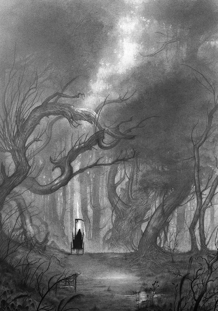 Death Artwork by Olivier Villoingt