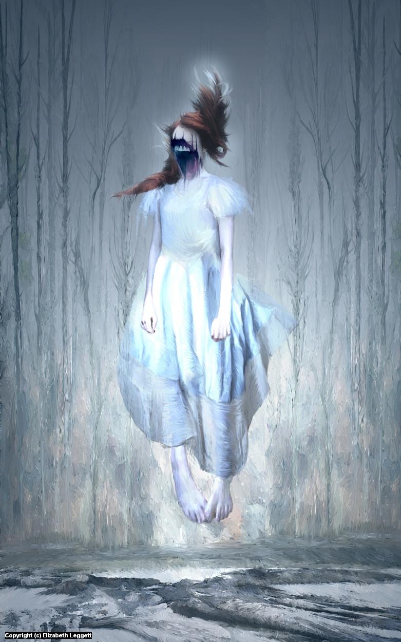 Banshee Artwork by Elizabeth Leggett