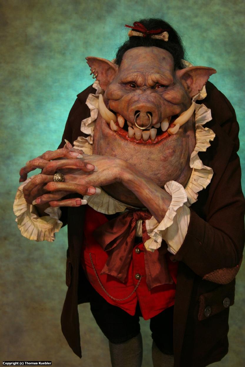 Swinegoblin Artwork by Thomas Kuebler