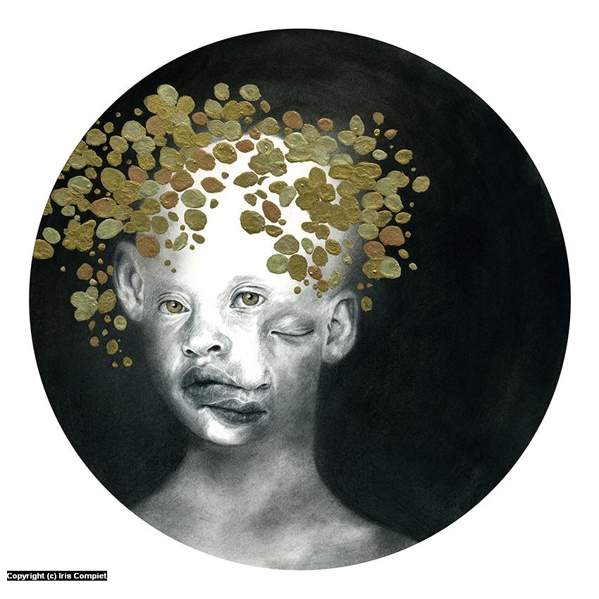 Golden Child Artwork by iris compiet