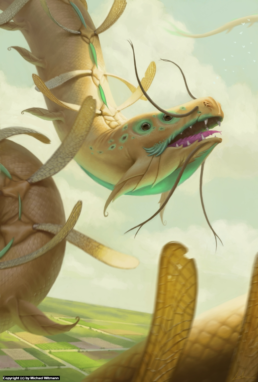Skyworm Artwork by Michael Witmann