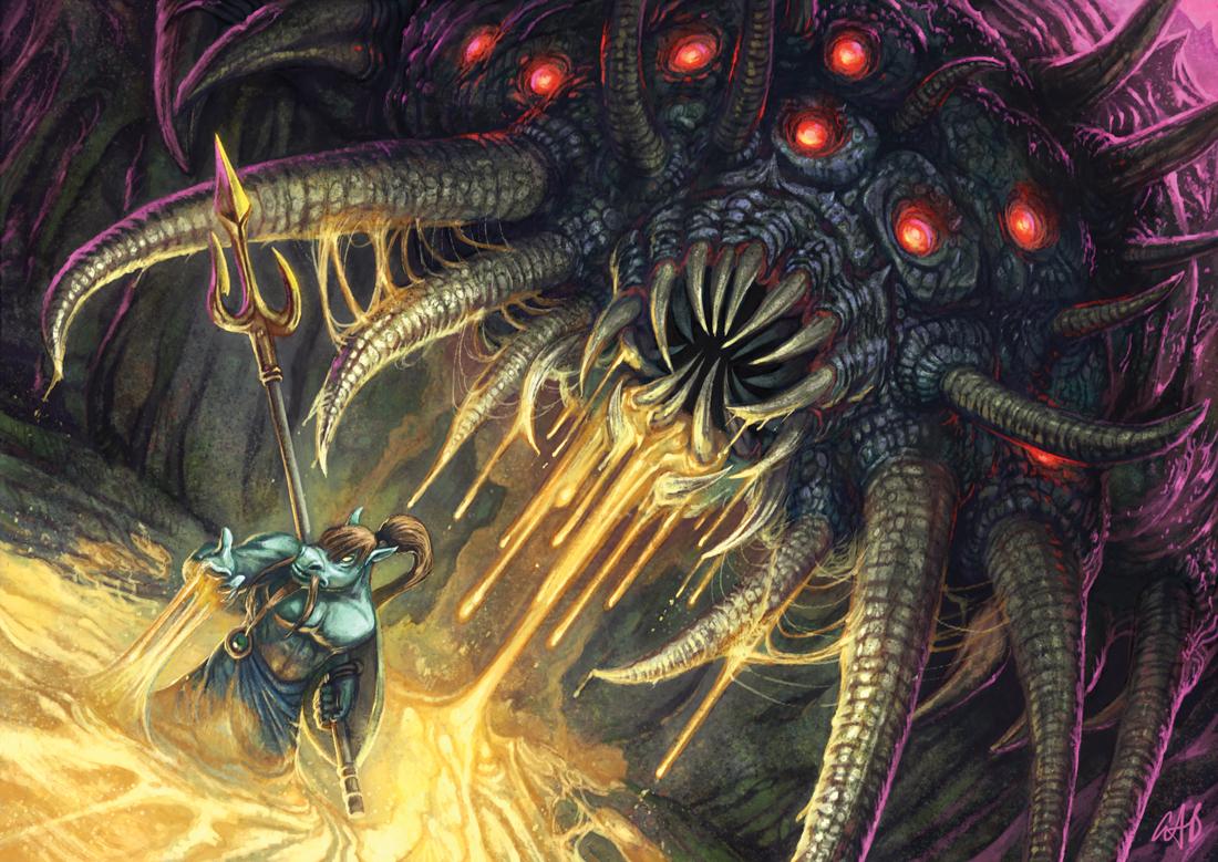Virulent Worm Artwork by Christopher Burdett
