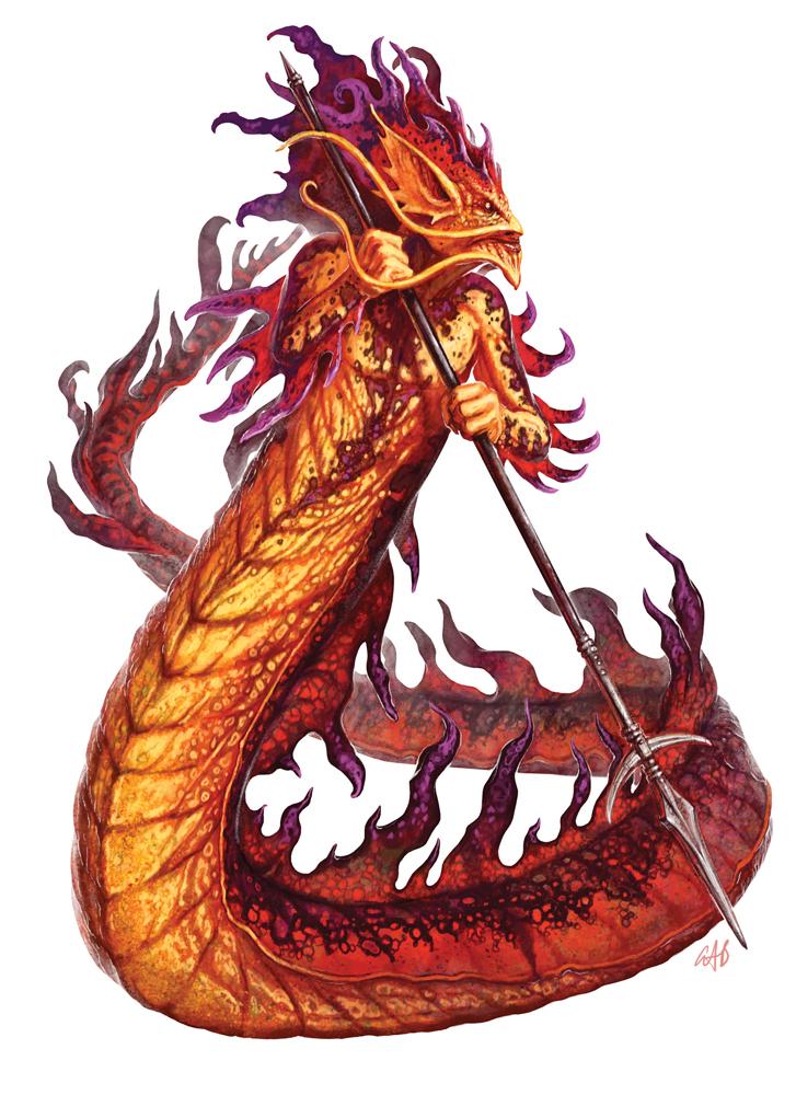 Salamander Artwork by Christopher Burdett