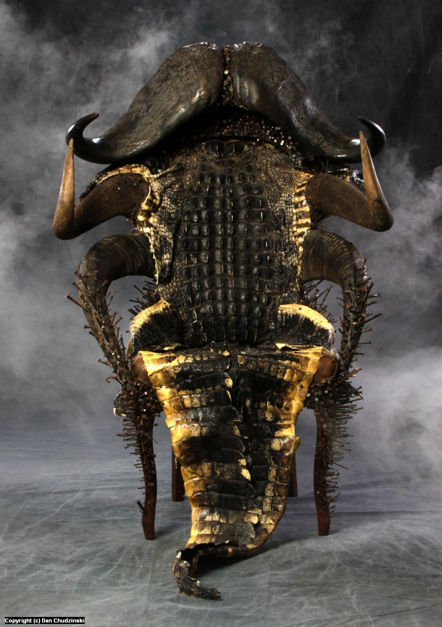 The Haunted Throne of the Voodoo Queen  Artwork by Dan Chudzinski