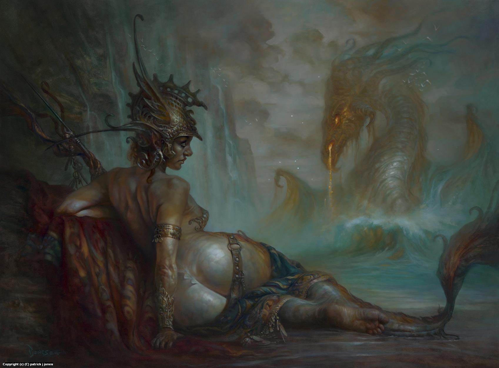 The Awakening Artwork by patrick jones