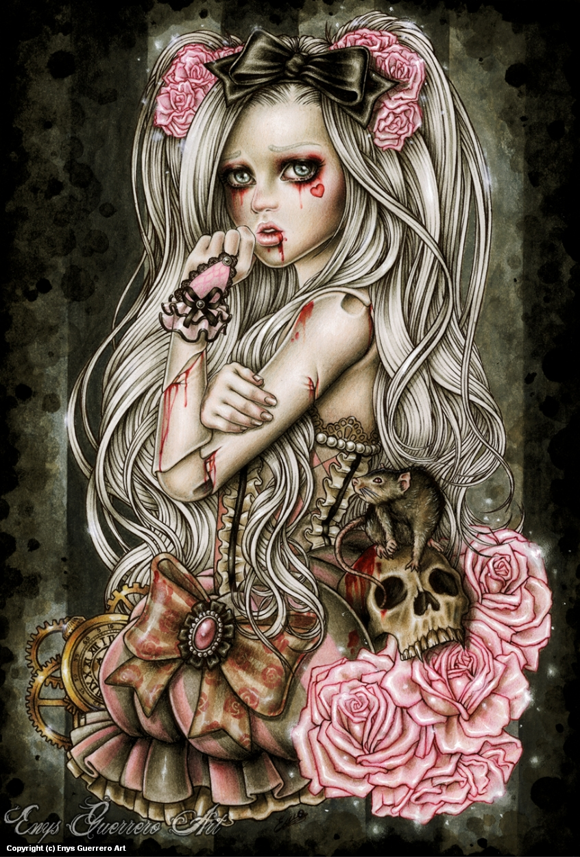 Damaged Artwork by Enys Guerrero