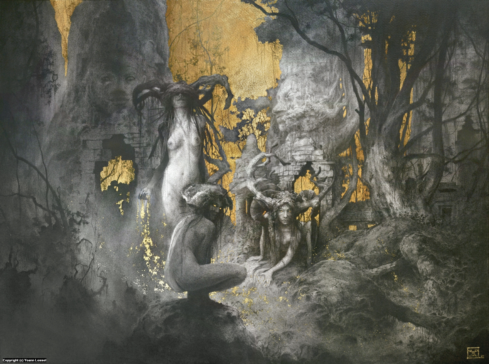 The Golden Age Artwork by Yoann Lossel