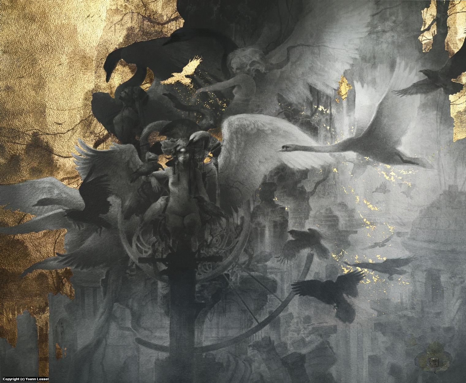 The Fall Artwork by Yoann Lossel