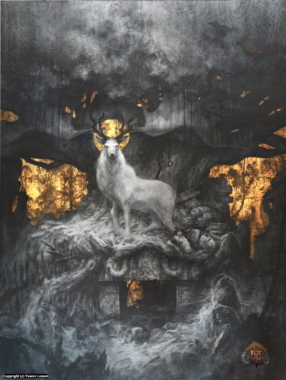 The Forgotten Gods Artwork by Yoann Lossel