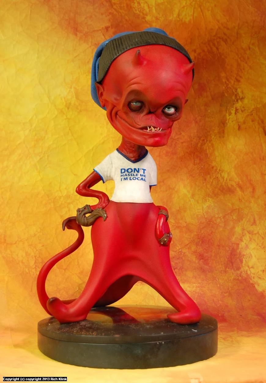 Dretz the mischievous Artwork by Rich Klink